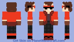 Maxblazer21 (Dragon Ball Xenoverse 2) Minecraft Skin