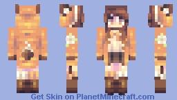 Golden Time Woodland Fellow Minecraft Skin