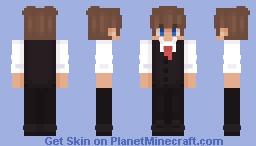Toast In suit Minecraft Skin