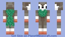 Skiddo (pokemon X and Y) Minecraft Skin