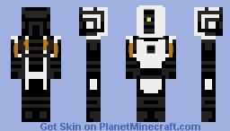 GLaDOS (Request from Cutebot100) Minecraft Skin