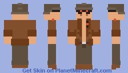Flak [Advance Wars 2] Minecraft Skin