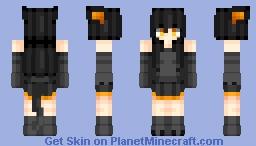 Ender cat :3 Minecraft Skin
