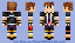 Sora-Kingdom Hearts Minecraft Skin