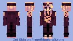 ʷʰᵒ'ˢ ᵗʰᵉ ᵏⁱⁿᵍ, ʷʰᵒ'ˢ ᵗʰᵉ ᵇᵒˢˢ? / ˢᵏⁱⁿᵗᵒᵇᵉʳ ᵈ-ᶠᵒᵘʳ Minecraft Skin