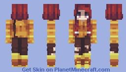 Skintober 2020: Day 13 // Nether Minecraft Skin