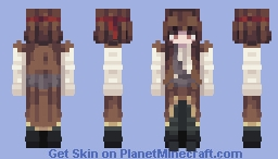 Skintober 2020: Day 19 // Pirate Minecraft Skin