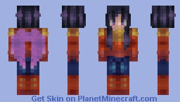 *-* Skintober Day 19 *-* Wings Minecraft Skin