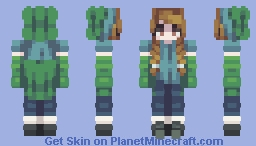 Skintober 2020: Day 20 // Costume Minecraft Skin