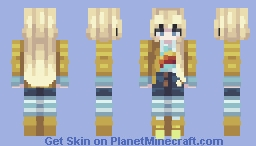 Skintober 2020: Day 21 // Doll Minecraft Skin