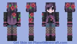 Skintober 2020: Day 23 // Glowing Minecraft Skin