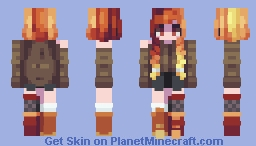 Skintober 2020: Day 24 // Autumn Minecraft Skin