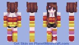 Skintober 2020: Day 28 // Fav Food Minecraft Skin