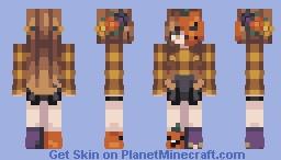 Skintober Day 29 - Pumpkin Minecraft Skin