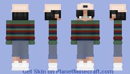 (LATE) Skintober Day 2 - eboy/soft boy? Minecraft Skin