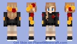 Skintober Day 2 | Flowery | ~𝘈𝘭𝘺𝘴𝘴𝘢~ Minecraft Skin