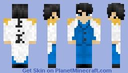 Marine Admiral Template (one piece) Minecraft Skin
