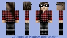Skrillex Minecraft Skin