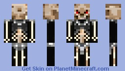 Necroskull The Berserke Minecraft Skin