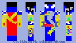 TrandoshanGodOfTheSun-Alechetron-KalaAlexander-MsDosVersion Minecraft Skin