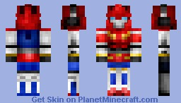Transformers Victory Star Saber Minecraft Skin