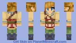 [The Legend of Zelda] Skyward Sword Skyloft Link Minecraft Skin