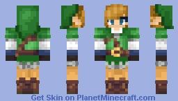 [The Legend of Zelda] Skyward Sword Hero Link Minecraft Skin