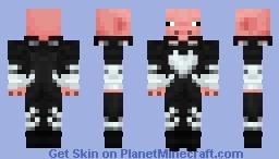 Black pig Minecraft Skin