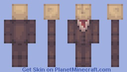 Slenderman new style for me ? (looks better in 3d) Minecraft Skin
