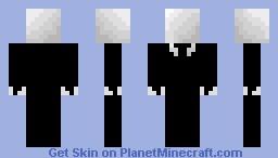 The Slender Skin!!! Minecraft Skin