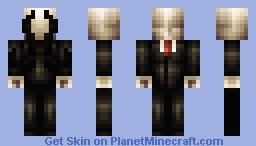 Slender EAT THIS UNORIGINAL EXISTENCE :D Minecraft Skin