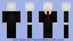 The Slenderman Minecraft Skin