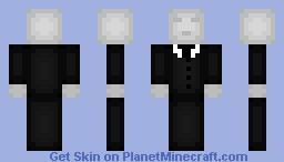 my slender men (dont flag i know ppl before me have made but this is my custom one) Minecraft Skin