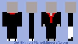 Slenderman skin Minecraft Skin