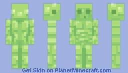 🍏 Slime for all? Slime for all. 🍏 (popreel woah 😳) Minecraft Skin