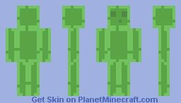 Slime man! :D By xFightSport! Minecraft Skin