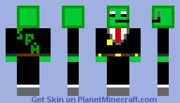 Slime Protection Agency Officer Minecraft Skin