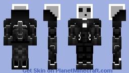 Slime robot x Minecraft Skin