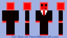 Slime (red) Minecraft Skin