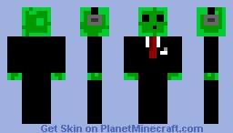 DJ Slime Minecraft Skin