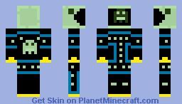 Slime Pacman :D Minecraft Skin