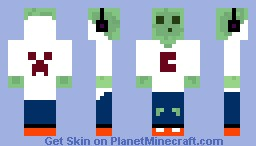 Gamer_Slime //By Crankzy Minecraft Skin