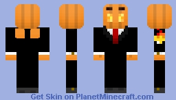 Silverfish Jackolantern! Minecraft Skin
