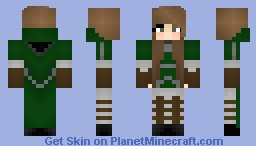 100 SUBS OHMAGERD! Slytherin Quiddich Uniform- Girl Minecraft Skin
