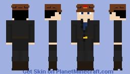 Soviet miner Minecraft Skin