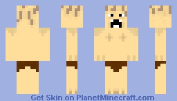 Smeagol/Gollum Minecraft Skin