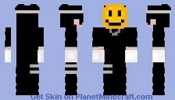 Smile Man Minecraft Skin