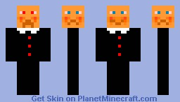 doctor who smiler Minecraft Skin