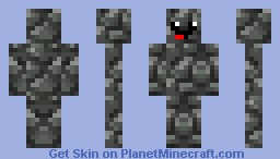 smiley cobble guy Minecraft Skin