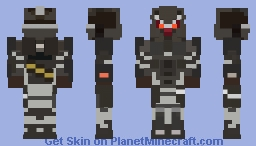 SMOOTH Helghast Assault Infantry Skin Minecraft Skin